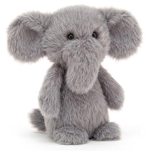 Jellycat fluffy elephant - baby
