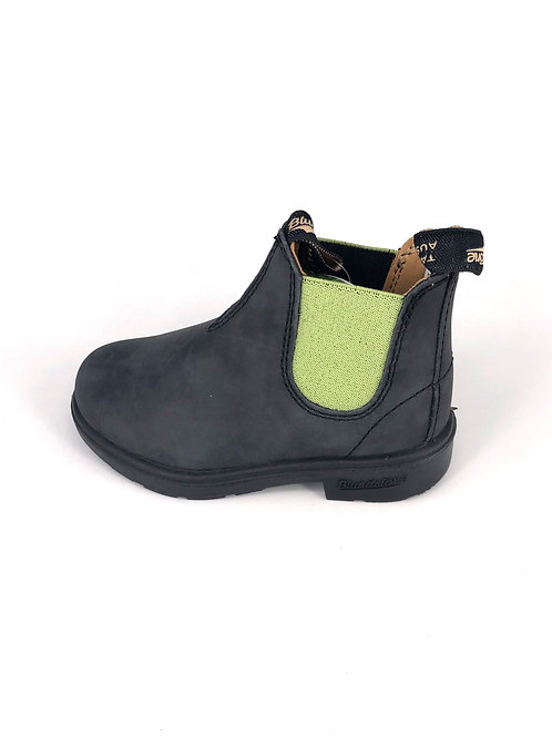 BLUNDSTONE Stiefel - blau/limette