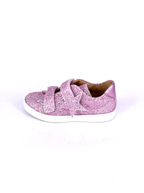 jff - Sneaker mit Glitzer - pink