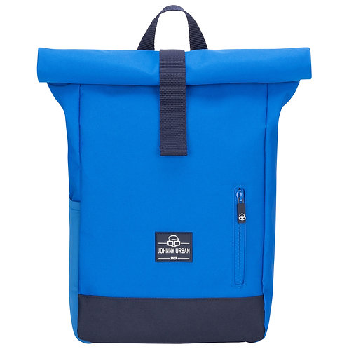 Johnny Urban - Rolltop Rucksack Aaron junior - blau