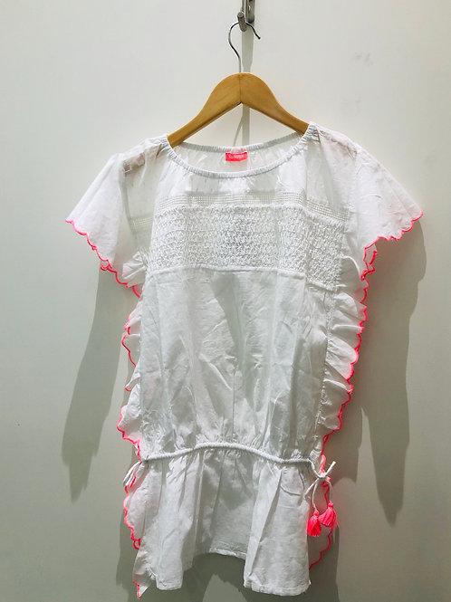 Sunuva - weißes Boho Kleid