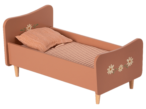 Maileg - Holzbett in rosa