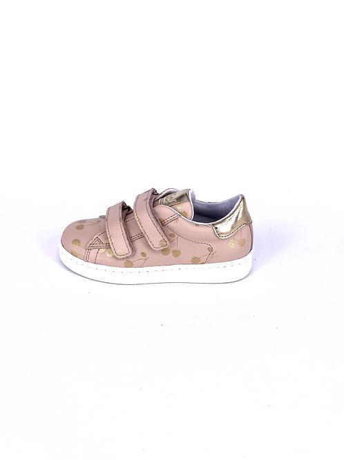 Clic! Sneaker Kirsche rosa/gold
