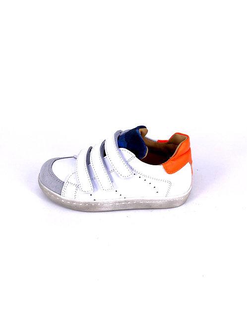 Jff - Sneaker weiß/neonorange