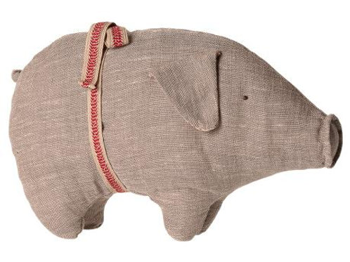 Maileg - Pig Medium Grey