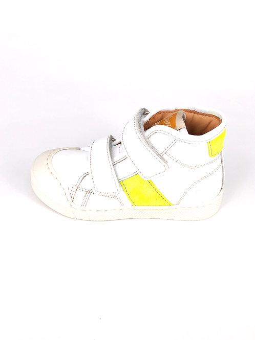 Ocra - Sneaker weiss/gelb