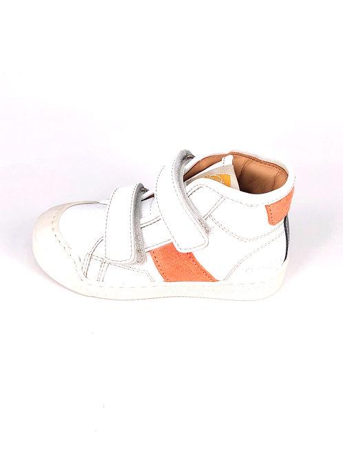 Ocra - Sneakers weiss/orange