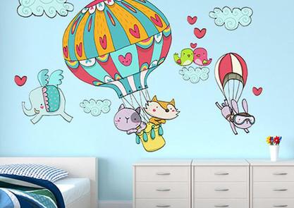 Barevná malba do dětského pokoje