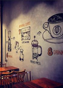 Nabídka a proces chystání kávy v kavárně
