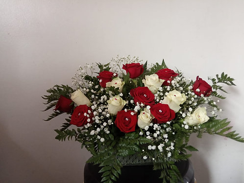 Rose Crystal Bouquet
