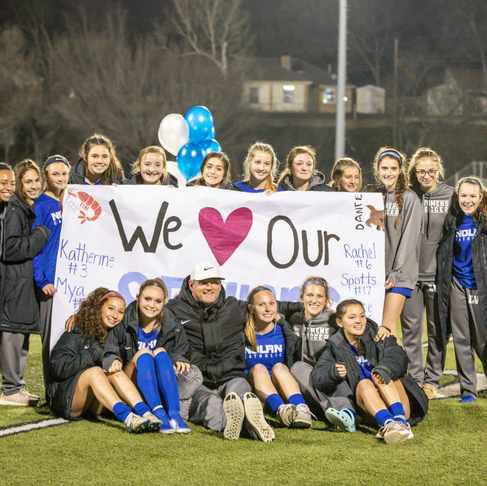 District Play continues; week concludes with Senior Night