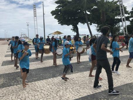 Diário do Nordeste: Ato realizado neste domingo (5) contesta o novo aterro da Praia de Iracema