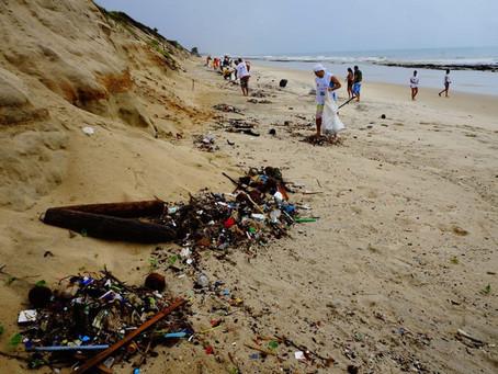 Diário do Nordeste: Guardiões dos Oceanos fazem ação de limpeza hoje na Praia da Sabiaguaba