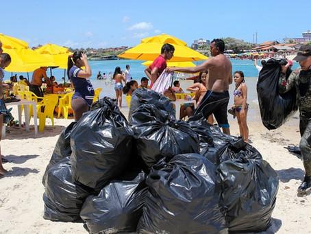Diário do Nordeste: Voluntários se reúnem na Sabiaguaba para limpar foz do Rio Cocó
