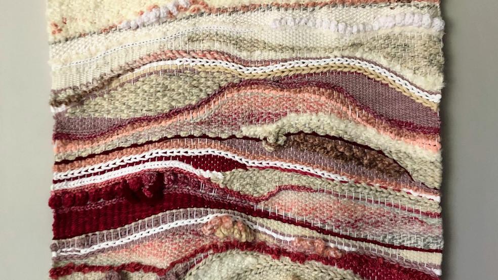 uprising - whitepinkburgandy large weavi
