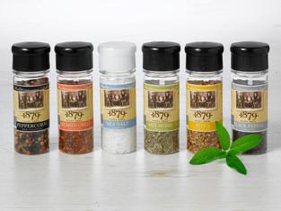 Spice grinder family