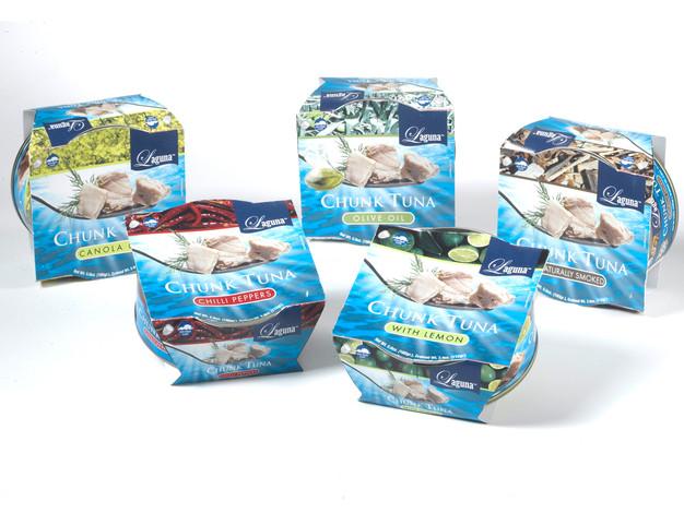 LAGUNA™ flavored chunk tuna