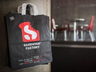 Sandwich Factory shopping bag