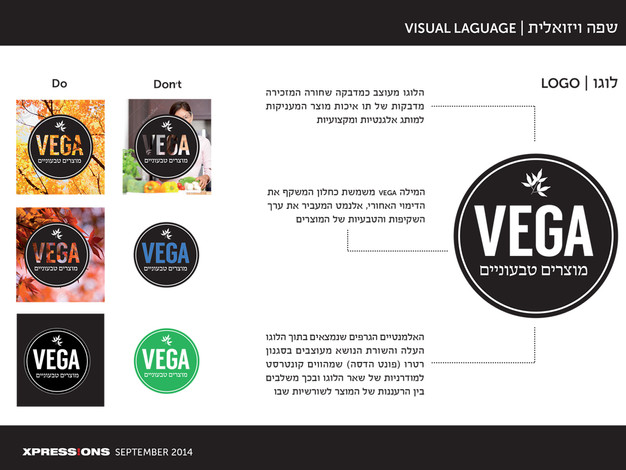 VEGA Graphic Standards Guidelines