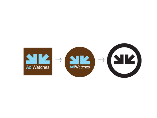 ADI Watches previous corporate logo