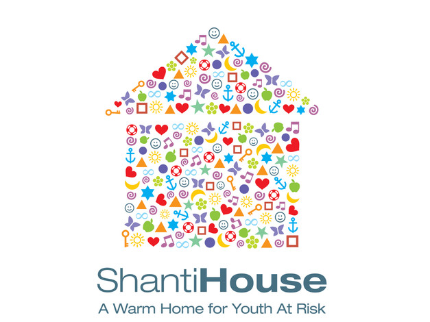 The Shanti House English Logo