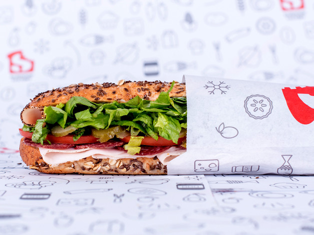 The Sandwich Factory Wrapping Paper