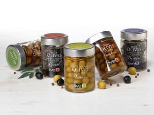Pickled olives