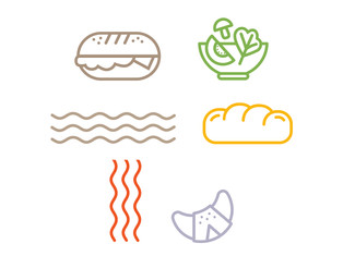 Bread & More icons