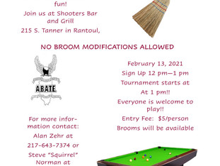 Broomstick Pool Tournament