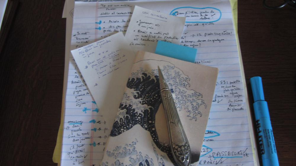 Notes pour l'écriture de mon roman...
