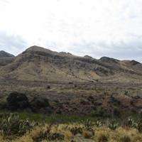 Montagnes au Nouveau-Mexique