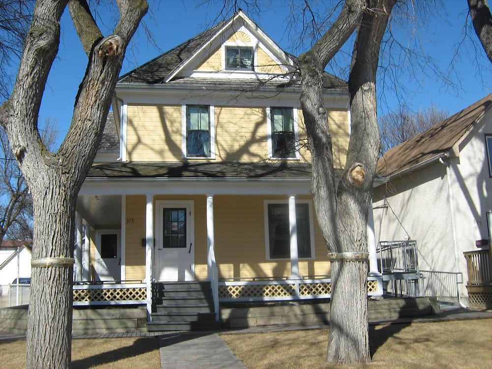 Maison où a vécu Gabrielle Roy à Saint-Boniface