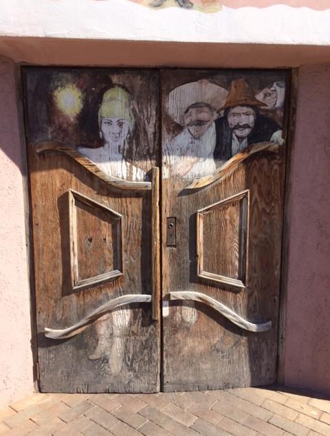 Portes d'un saloon