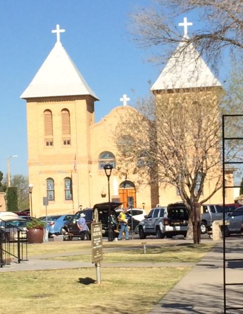 L'église de Mesilla