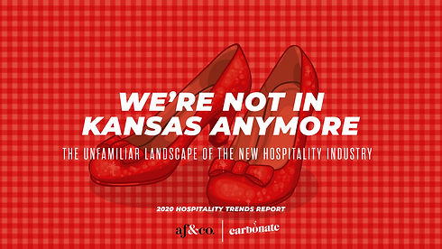 ruby slippers with the words, We're Not in Kansas Anymore