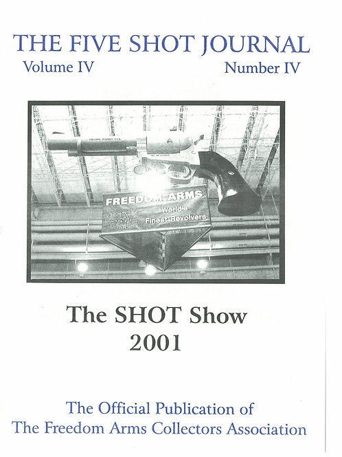 Volume 4 - Number 4    The Shot Show 2001