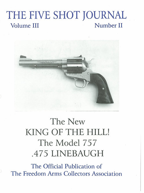 Volume 3 - Number 2             The New King of the Hill! The model 757