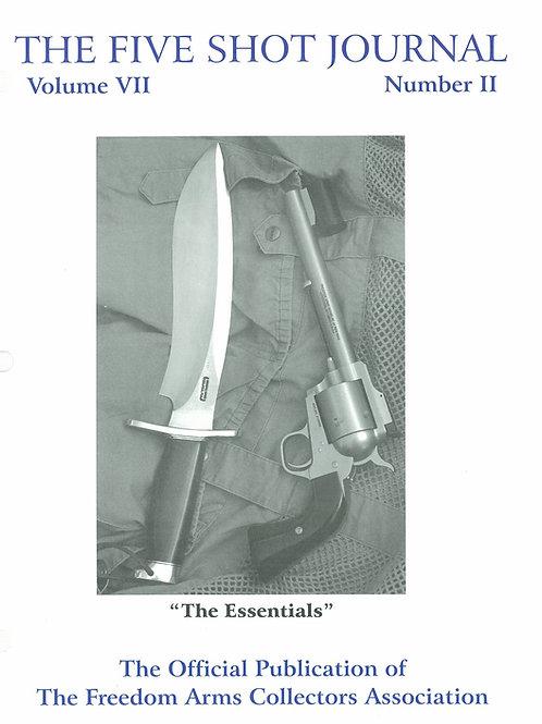Volume 7 - Number 2       The Essentials