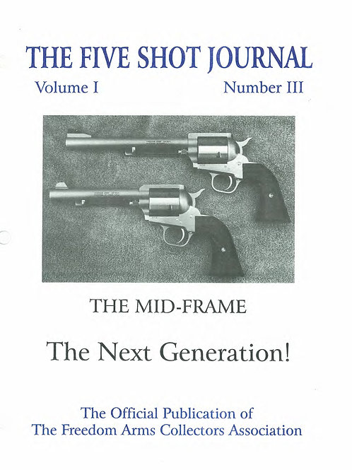 Volume 1 - Number 3           The Mid-Frame     The Next Generation