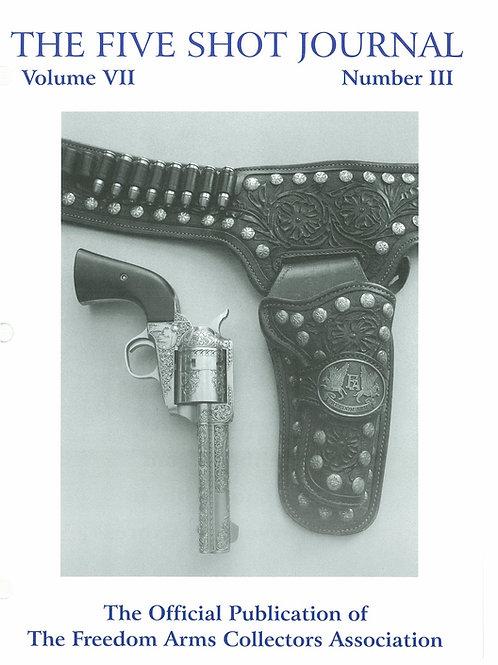Volume 7 - Number 3        The Dan Paul .454 Revolver