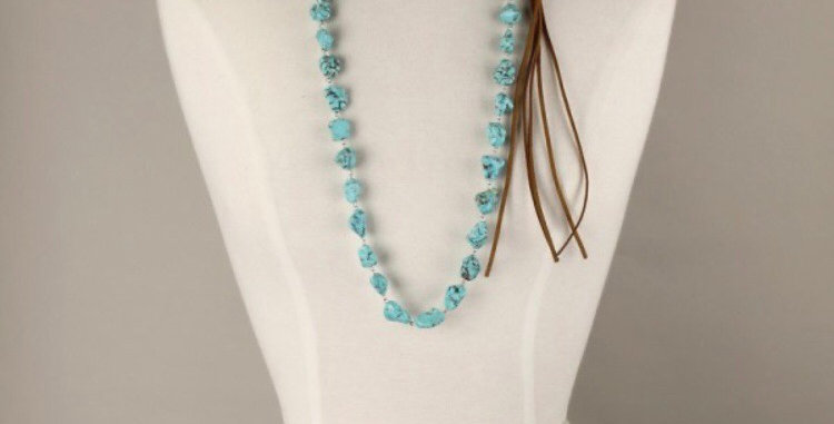 Clydesdale Turquoise Necklace
