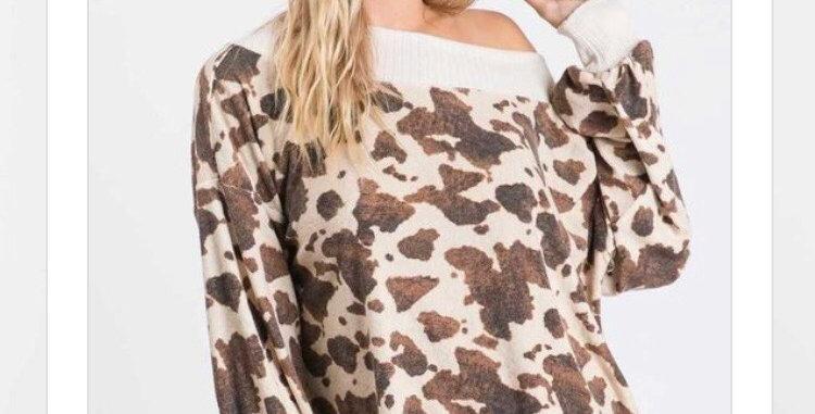 Cozy Cow Long Sleeve
