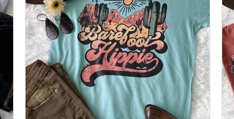 Barefoot Hippie T-shirt