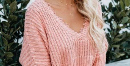 Darling Pink Sweater