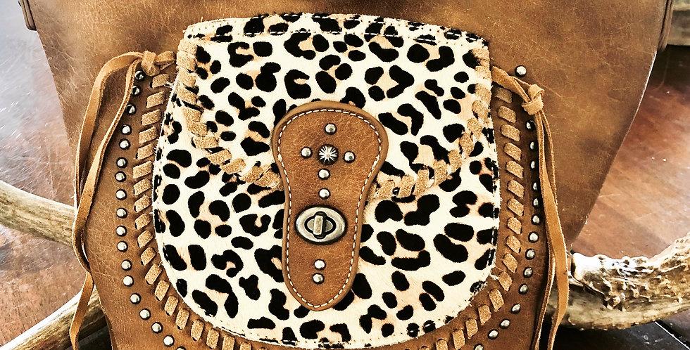 Lady Leopard Cross Body