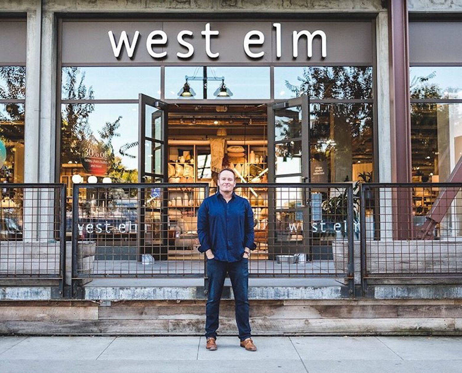 Now available at West Elm!