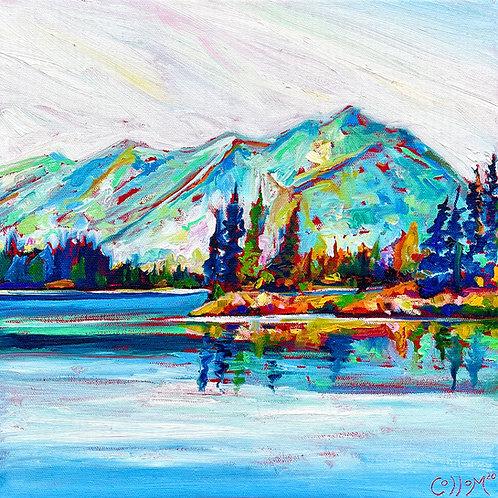 Lake Tahoe Framed