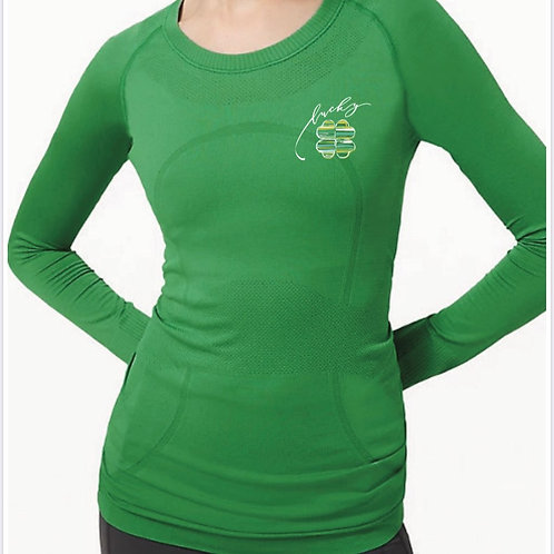 Women's Clover Long-Sleeve Shirt