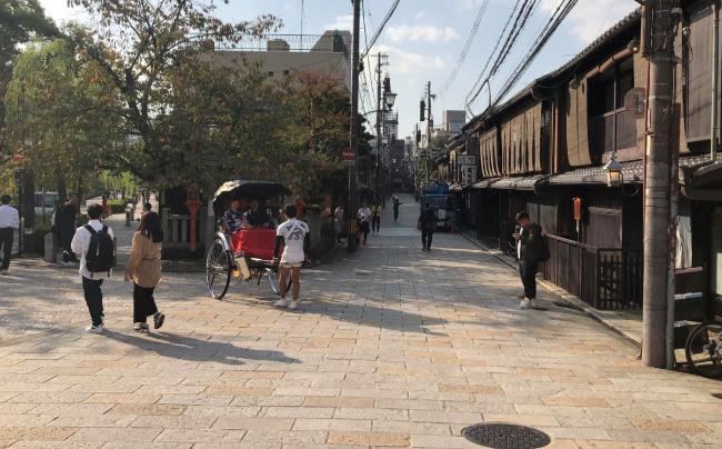 Gion Shimbashi before the Pandemic