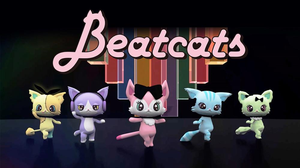 セガトイズとサンリオ 新たなキャラクター共同開発プロジェクト始動5人組ダンスボーカルユニット「Beatcats(ビートキャッツ)」10月8日(木)デビュー!